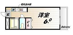 ユニックス神戸西[2号室]の間取り