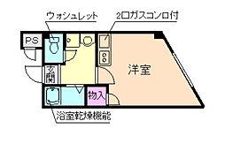 カーサディシエナ[1階]の間取り