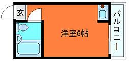岡本ビラ[3階]の間取り