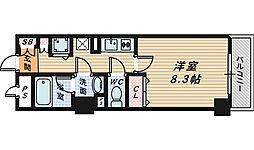 セントラル堺東[5階]の間取り