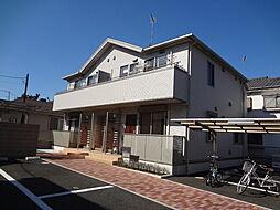 埼玉県入間市小谷田1丁目の賃貸アパートの外観