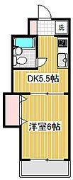 上北沢スカイライトビル[202号室]の間取り