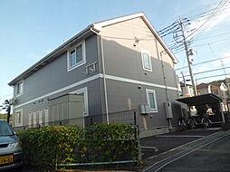 埼玉県入間市牛沢町の賃貸アパートの外観
