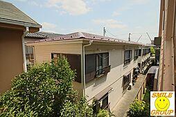 千葉県市川市東大和田1丁目の賃貸アパートの外観