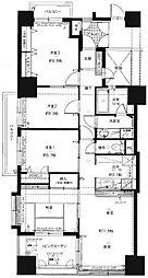 コアマンション博多駅南[13階]の間取り