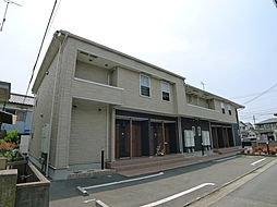 兵庫県加古川市尾上町池田の賃貸アパートの外観