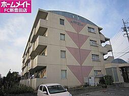 愛知県豊田市美山町4の賃貸マンションの外観