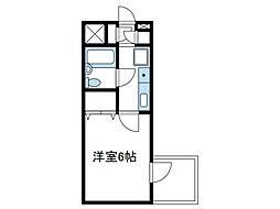 神奈川県相模原市南区南台3丁目の賃貸マンションの間取り