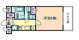 セイワパレス福島駅前[2階]の間取り