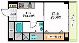 秀和幡ヶ谷レジデンス[9階]の間取り