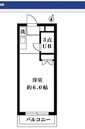 スカイコート向ヶ丘遊園第2[2階]の間取り