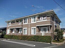茨城県筑西市みどり町1丁目の賃貸アパートの外観