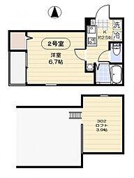 仮称)江東区大島8丁目計画[3階]の間取り
