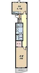 ニュータウン クマタ[2階]の間取り