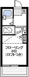 フォレストスクエア横浜WEST[2階]の間取り