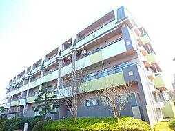 東京都八王子市上柚木3丁目の賃貸マンションの外観