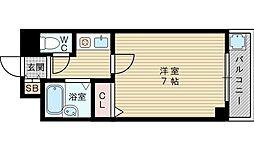 フローラル華苑[4階]の間取り