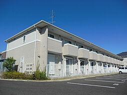 滋賀県東近江市山路町の賃貸アパートの外観