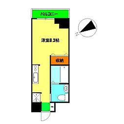 モンセラート横濱関内[3階]の間取り