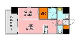 仮称)LANDIC K2620 5階1LDKの間取り