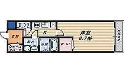 フジパレス堺香ヶ丘ノース[1階]の間取り