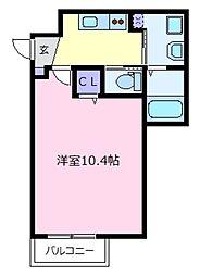 エヌエムサンカンテドゥ[2階]の間取り