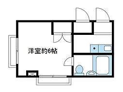 神奈川県座間市緑ケ丘6の賃貸マンションの間取り