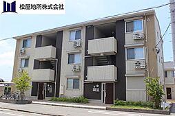 愛知県豊橋市豊岡町の賃貸アパートの外観