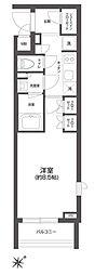JR総武線 信濃町駅 徒歩7分の賃貸マンション 3階1Kの間取り