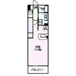 ロイヤルパーク多摩川2番館[447号室]の間取り