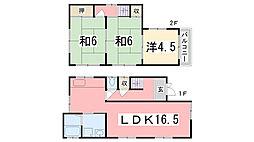 [一戸建] 兵庫県加古川市平岡町新在家 の賃貸【兵庫県 / 加古川市】の間取り