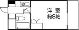 ドミールセッテ国分寺[14階]の間取り