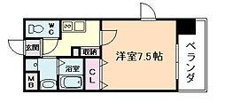 レジデンス中之島[2階]の間取り