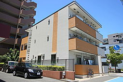 東京都江戸川区南葛西6丁目の賃貸アパートの外観