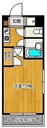SAISON21[503号室]の間取り
