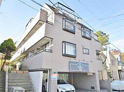 東京都多摩市豊ヶ丘2丁目の賃貸マンションの外観