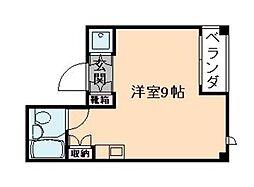 アップルハウス[4階]の間取り