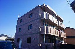 栃木県河内郡上三川町しらさぎ3丁目の賃貸マンションの外観
