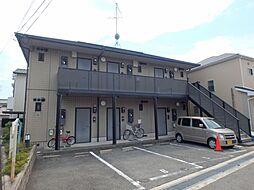 大阪府箕面市牧落1丁目の賃貸アパートの外観