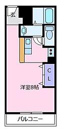 山口ビル[5階]の間取り