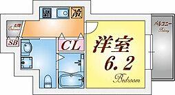 アクシア須磨浦[1階]の間取り
