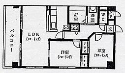 コートタウン駅南[10階]の間取り