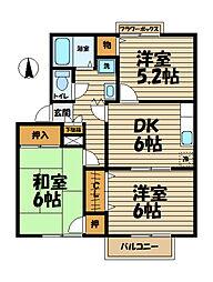 鎌倉山ガーデンヒルズ[2階]の間取り
