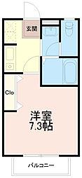 ピュアハイムイトウ(ピュアハイムITO)[1階]の間取り