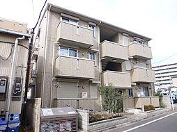 東京都北区浮間5丁目の賃貸アパートの外観