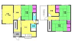 [一戸建] 兵庫県明石市魚住町西岡 の賃貸【/】の間取り