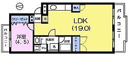 イズミ第3マンション[3階]の間取り