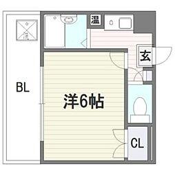 福岡県福岡市西区愛宕3丁目の賃貸マンションの間取り