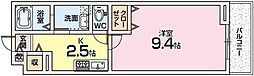 レイズライト[1階]の間取り