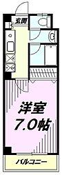 東京都八王子市丹木町1丁目の賃貸マンションの間取り
